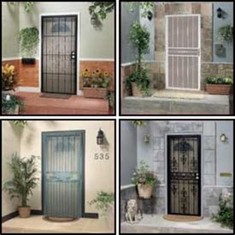 Armazone 112 01404 01 White security doors alert security doors