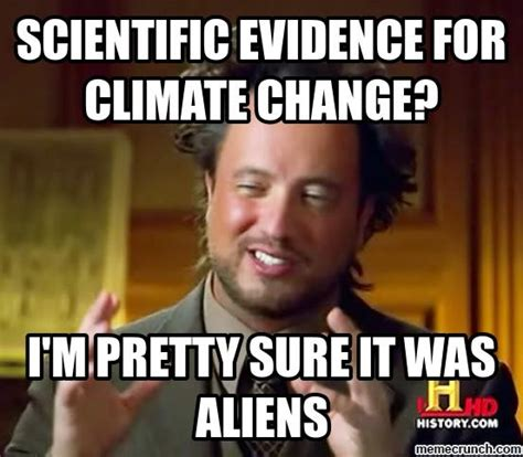 scientific evidence for climate change
