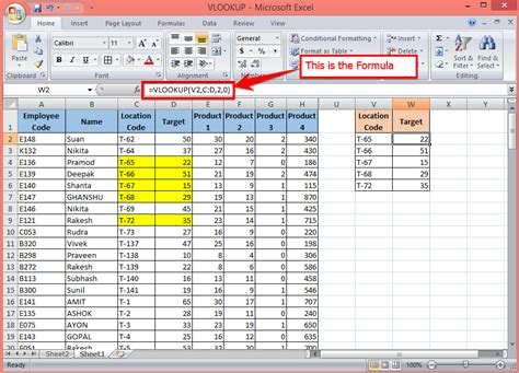 vlookup basic tutorial how to use the vlookup function for beginers part 1