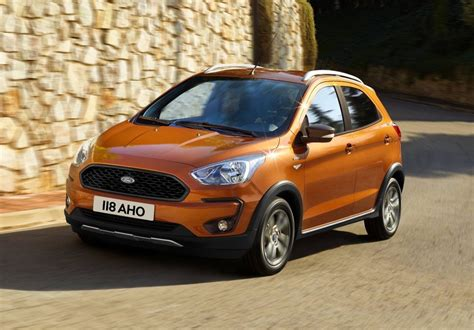 ford ka revealed active crossover added performancedrive