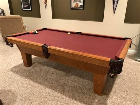 used tables 94 best used pool tables for sale prices vary by your