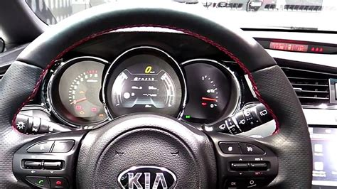 kia ceed gt interior 2017 kia ceed gt limited luxury features exterior and