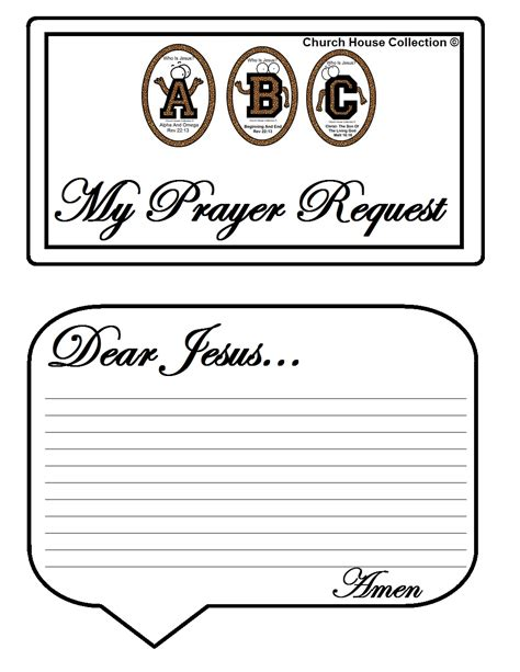 prayer template church house collection abc s quot who is jesus quot white
