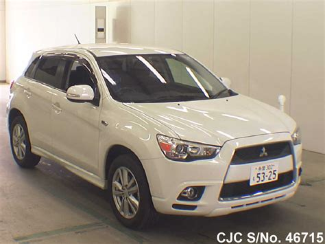 mitsubishi rvr 2012 2012 mitsubishi rvr pearl white for sale stock no 46715