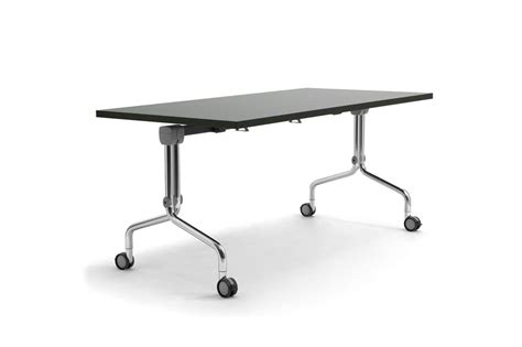wheels for tables table on wheels with adjustable top for catering idfdesign