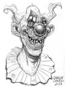 Killer Clown From Outer Space Drawings Sketch Coloring Page sketch template