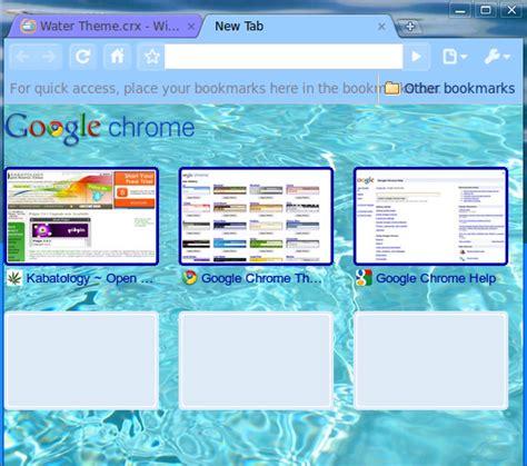 Google Themes Water | kabatology open source linux