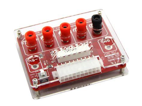 atx breakout board bench power supply atx breakout board v1 1 acrylic case v1 dp10080 power