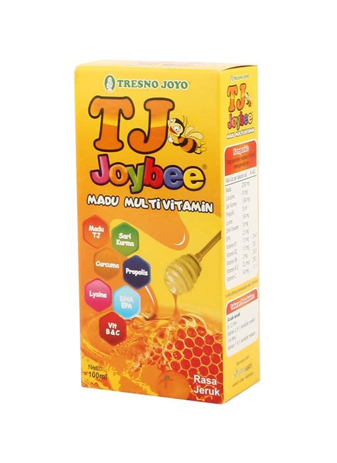 Tj Joybee Madu Multivitamin 100ml tresno joyo madu multivitamin tj bee jeruk btl 100ml klikindomaret