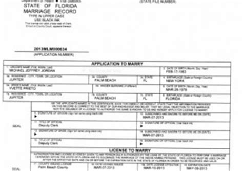 Broward County Florida Marriage Records Search Michael Yvette Prieto Apply For Marriage License