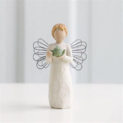 willow tree comfort willow tree kitchen angel tea pot figurine by susan lordi