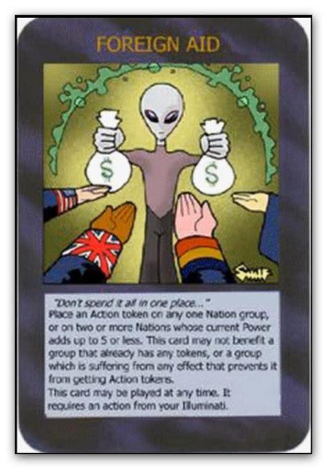 buy illuminati card illuminati cards foreign aid by icu8124me on deviantart