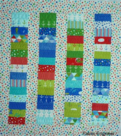Baby Boy Quilt Fabric by Fabric Engineer Baby Boy Quilt