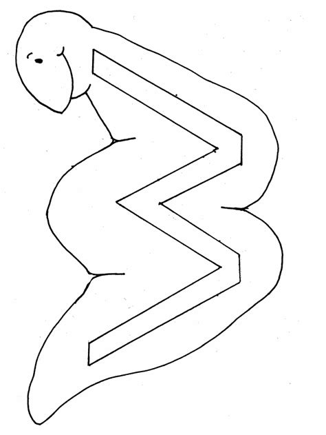 W Is For Worm Coloring Page by Letter Coloring Pages Coloring Pages To Print