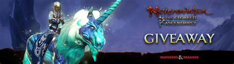Neverwinter Giveaway - ended neverwinter blue and green unicorn giveaway na only mmos com