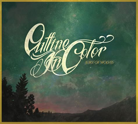 Outline In Color A Jury Of Wolves Album outline in color jury of wolves highlight magazine
