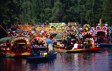 The Floating Gardens Of Xochimilco by Floating Through Xochimilco Mexico Travel Feature