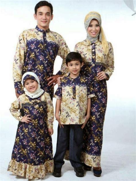 Baju Batik Untuk Keluarga 4 model baju batik anak perempuan yang cantik