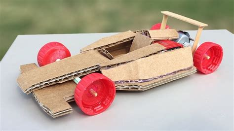 How To Make A F1 Car Out Of Paper - how to make amazing f1 racing car out of cardboard diy