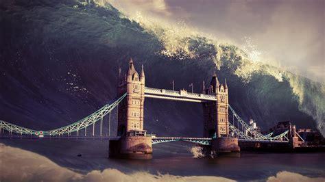wave london tower bridge wallpapers hd wallpapers id