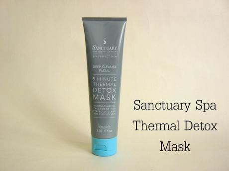Sanctuary Spa 5 Minute Thermal Detox Mask by Sanctuary Spa 5 Minute Thermal Detox Mask Paperblog