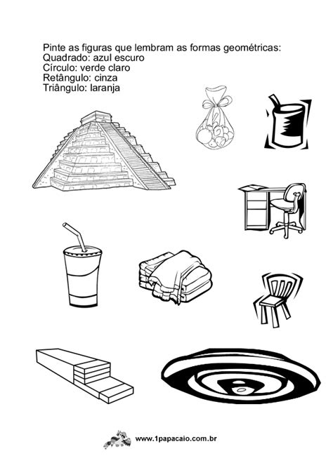 atividades com formas geometricas – Cantinho da Conversa