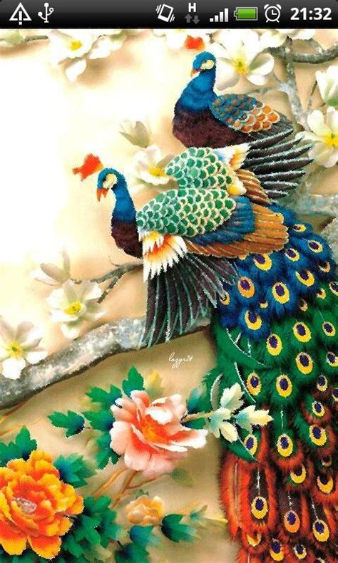 colorful garlands live wallpaper free android live colorful peacock live wallpaper free apk android app