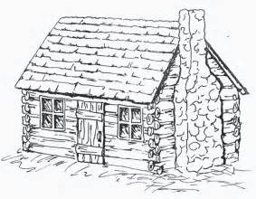 Log Cabin Drawings by The Herbert Hoover Presidential Library And Museum