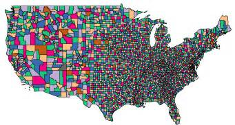 maps us map counties