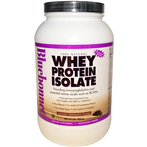 Whey Protein Isolate Bluebonnet Nutrition Whey Protein Isolate