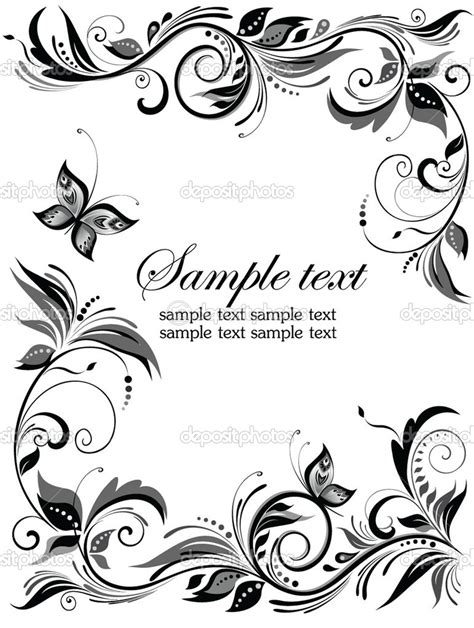 Wedding Borders Vector by 13 Wedding Border Vector Images Vintage Wedding Vector