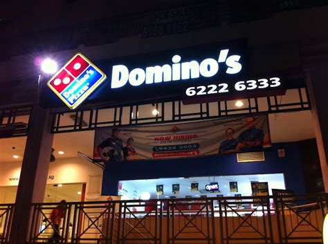 domino pizza hotline foodiefc domino s pizza singapore sembawang