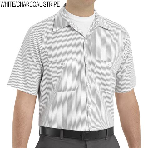 The Stripes Workshirt Co kap sp20 industrial stripe sleeve work shirt
