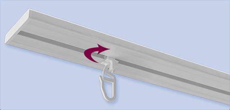 gardinenhaken fur gardinenschiene drehgleiter f 252 r vorhangschiene kunststoff wei 223 f 252 r