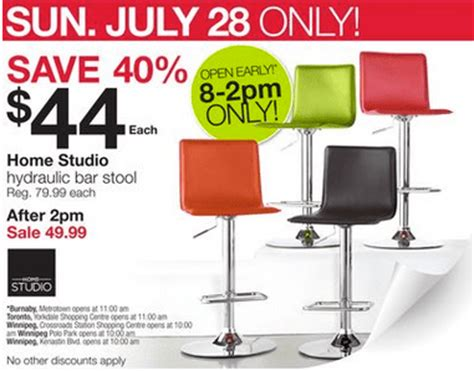 home outfitters canada one day deal get a hydraulic bar