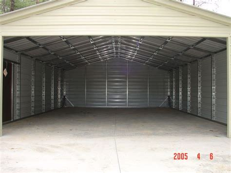 Enclosed Car Port by Enclosed Garage Carports Carolina Carports