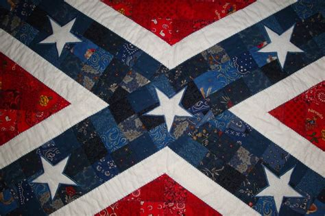 Confederate Flag Quilt by Pin By Beth Smith On Quilts I Made