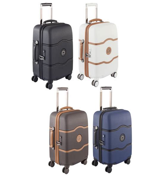 delsey cabin luggage delsey chatelet cabin luggage 55 cm 4 wheel by