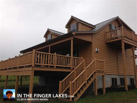 luxury cabin overlooking seneca lake finger lakes