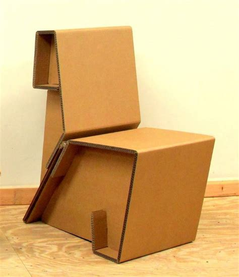 Cost To Build A House by Chairigami Cardboard Chairs Look Equally Amazing And