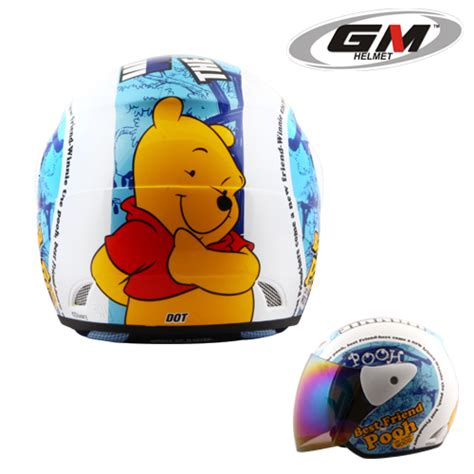 Helm Gm Pooh helm gm evolution the pooh seri 9 pabrikhelm jual helm murah