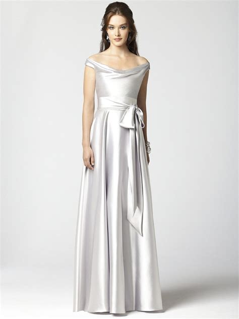 Silver Bridesmaid Dress by Team Wedding Colorful Wedding Gowns Silver Inspiration
