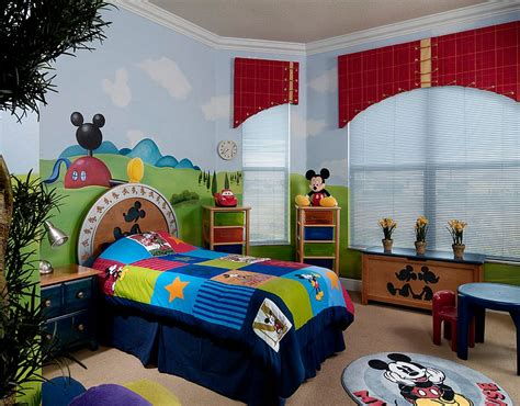 Mickey Mouse Bedroom Designs 24 Disney Themed Bedroom Designs Decorating Ideas Design Trends