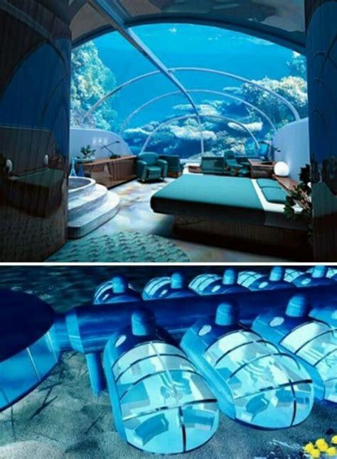 hotel room underwater poseidon resort fiji my wishlist
