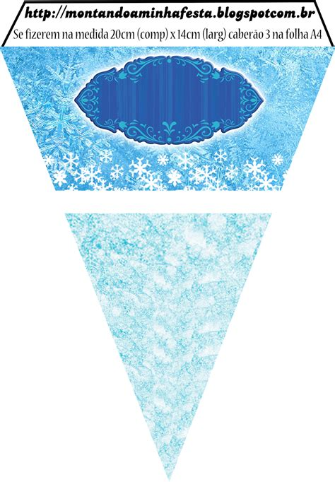 printable frozen garland pin by juliana bageto on frozen pinterest frozen party