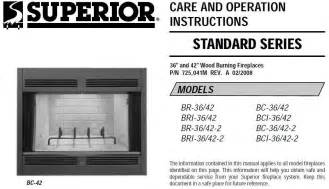 superior fireplace manual a plus inc lennox superior bc 36 br 36 replacement