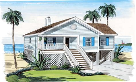beachfront house plans cottage house plans small house plans small