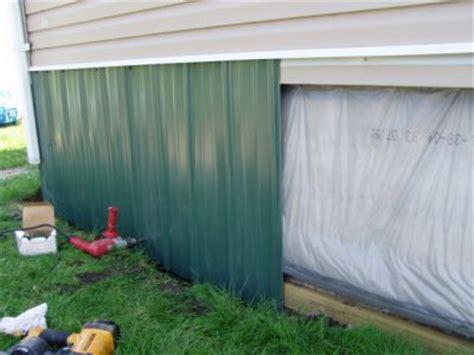 insulating skirting mobilehomerepaircom
