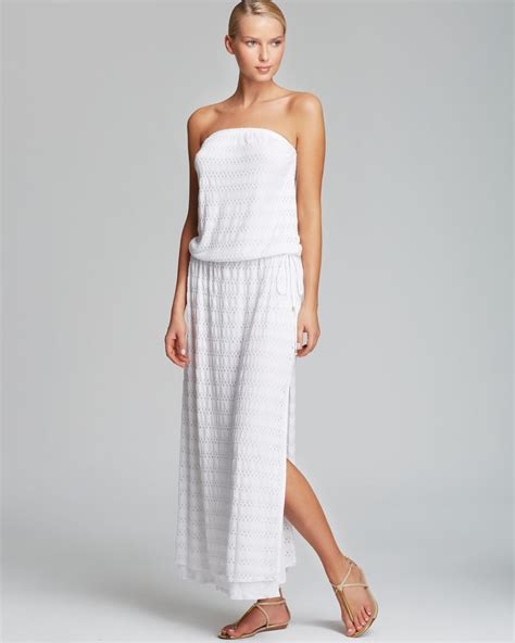 vitamin a cover up maxi dress in white