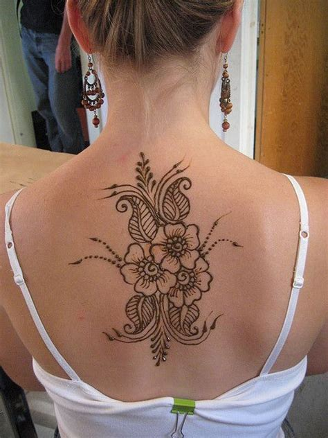 henna tattoo designs for back of neck henna designs back neck makedes
